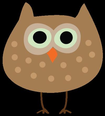401x442 Owl Fall Clip Art