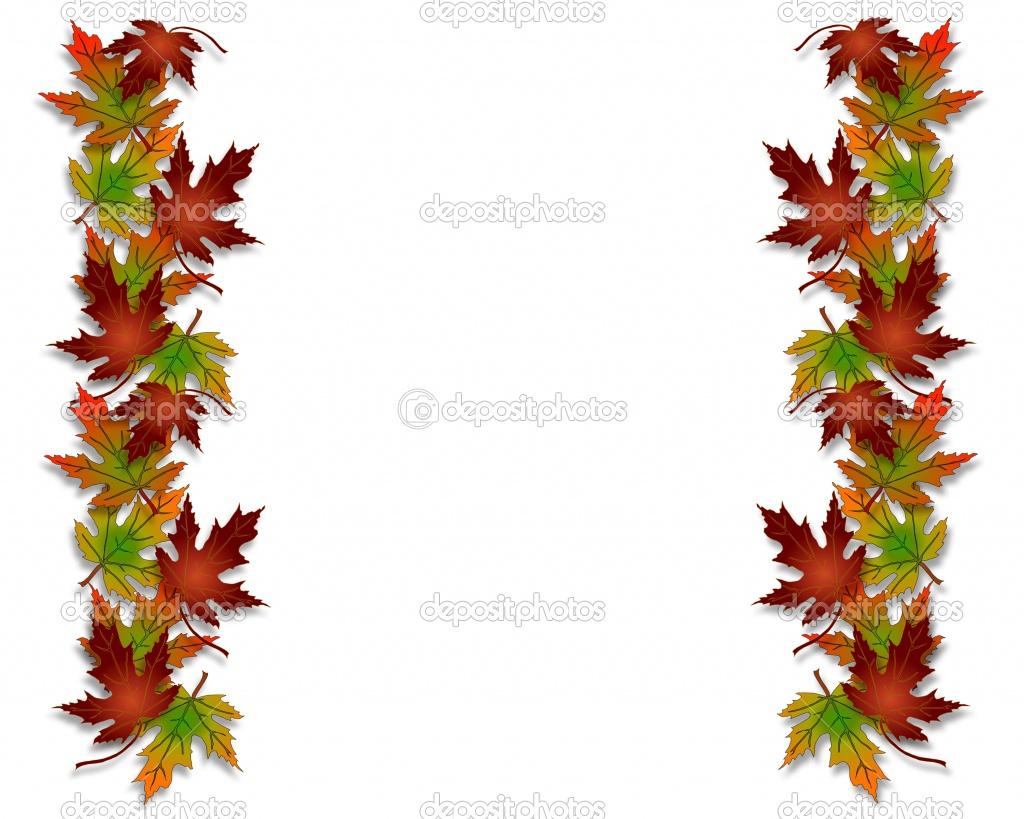 1024x819 Fall Borders Clipart