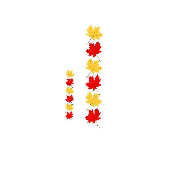600x600 Autumn Leaves Clip Art Border Clipart Collection