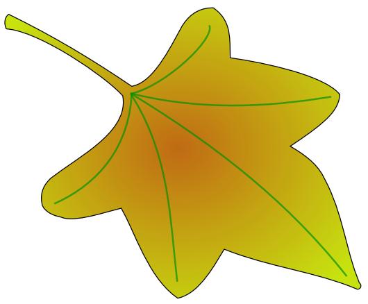 530x438 Clip Art Of Leaves