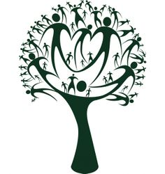 236x250 Family Reunion Tree Clip Art