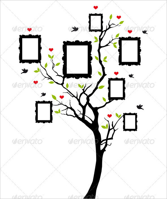 family tree clipart black and white free download best family tree