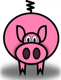 235x307 Cartoon Clipart Free Pig Cartoon Clipart Piggie Bank