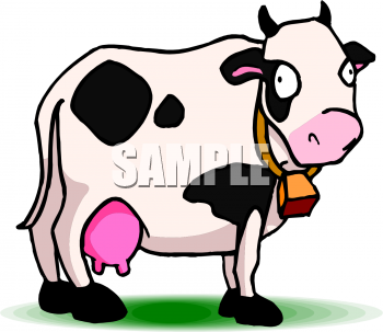 350x303 Royalty Free Cow Clip Art, Farm Animal Clipart