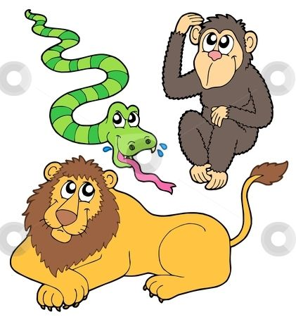 421x450 Zoo Animal Clip Art