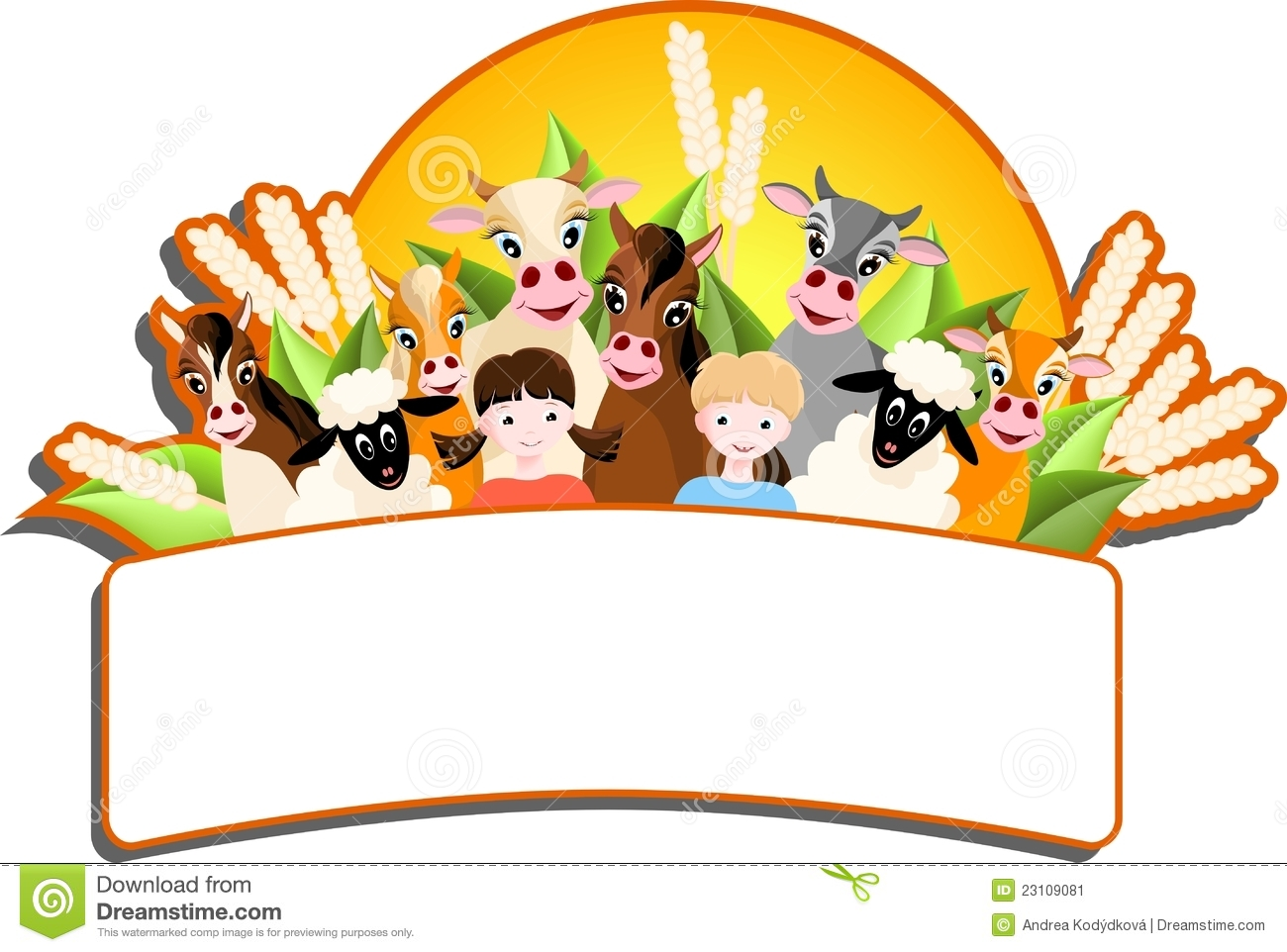 1300x962 Animl Clipart Happy Farm