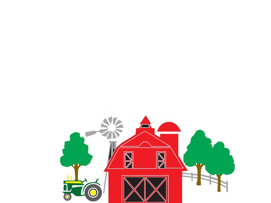1024x768 Farm Clipart Farm Background