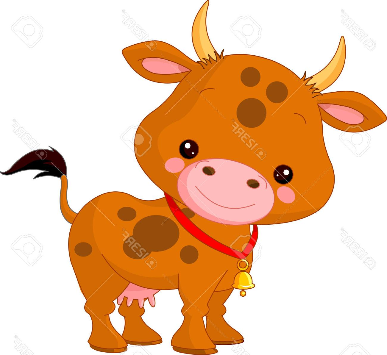 1300x1193 Best 15 Farm Animals Illustration Of Cute Cow Stock Vector Clipart