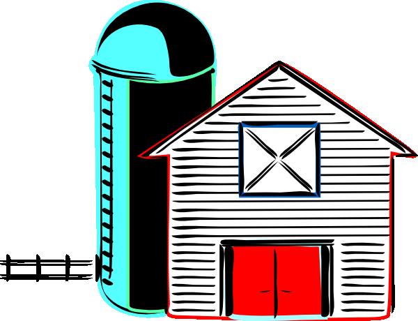 600x460 Retro Farm Clip Art