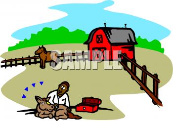 350x245 Royalty Free Farm Clip Art, Farm Buildings Clipart