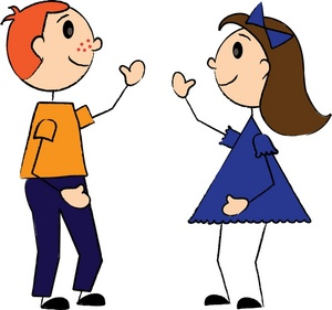 300x281 Boy And Girl Clip Art Free