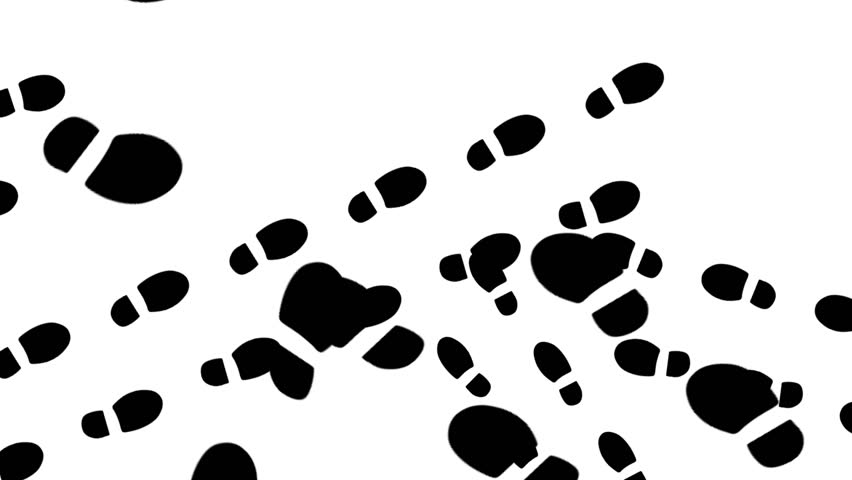 852x480 Foot Prints Footprints Shoes Shoe Shoeprints Marks Feet Transition