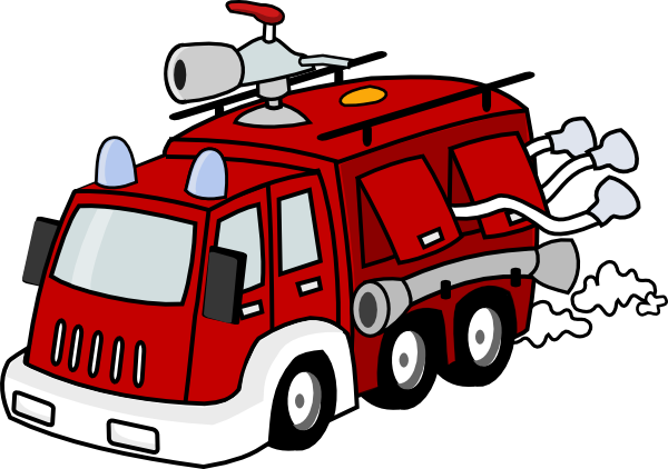 600x422 Fire Truck Clipart Ambulance