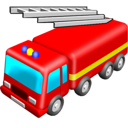 256x256 Fire Truck Happy Clip Art Vector Clip Clipart Cliparts For You