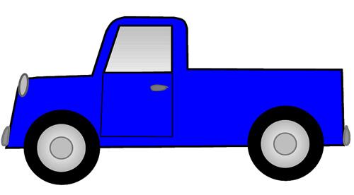 500x276 Clipart Truck