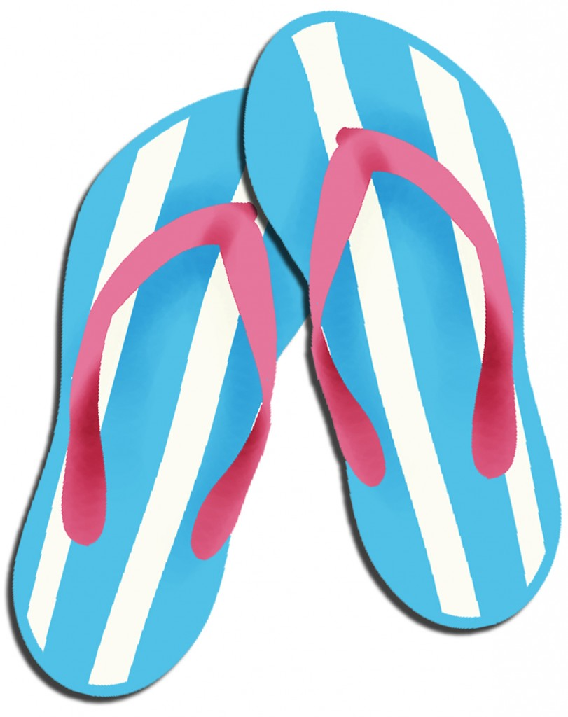 Free Flip Flop Clipart | Free download on ClipArtMag