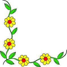236x236 Flower Border Clip Art Free Illustration Of Floral Border Roses