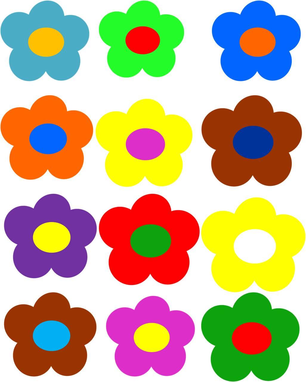 1026x1283 Flower Power Clipart