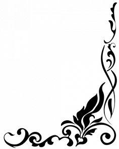 236x295 Free Stock Photos And Clip Art Flower Border Clip Art