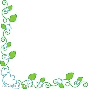 294x300 Free Clip Art Flower Borders Clipart Collection