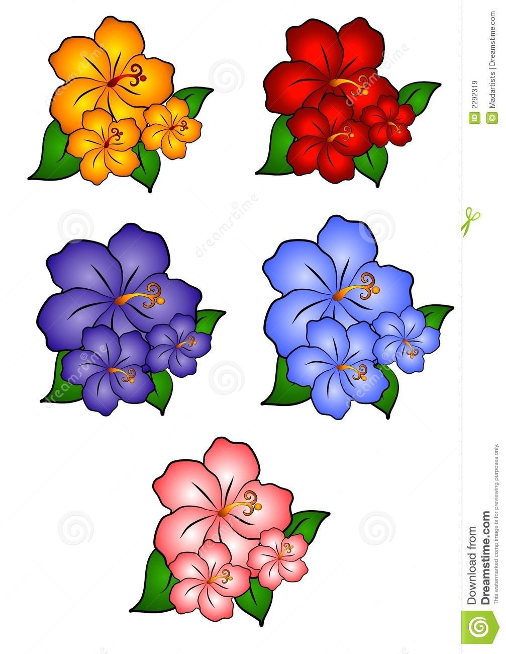 1007x1300 Hawaiian Flower Clip Art Borders Clipart Panda