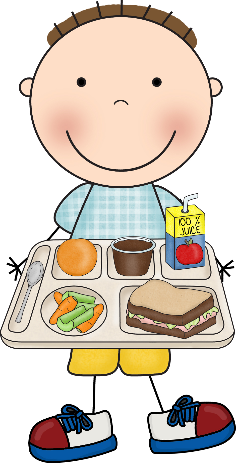 940x1846 Lunch Kindergarten Clipart