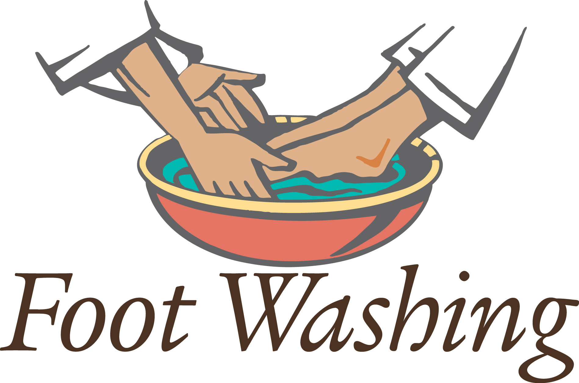 1898x1254 Feet Clipart Wash Feet