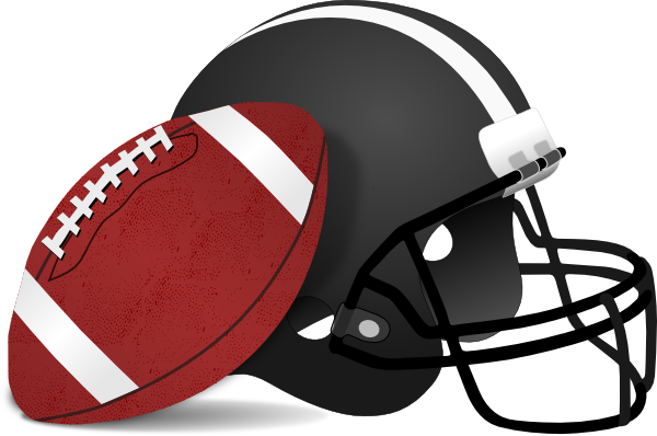 600x398 Football Helmet Clipart Clipart Panda