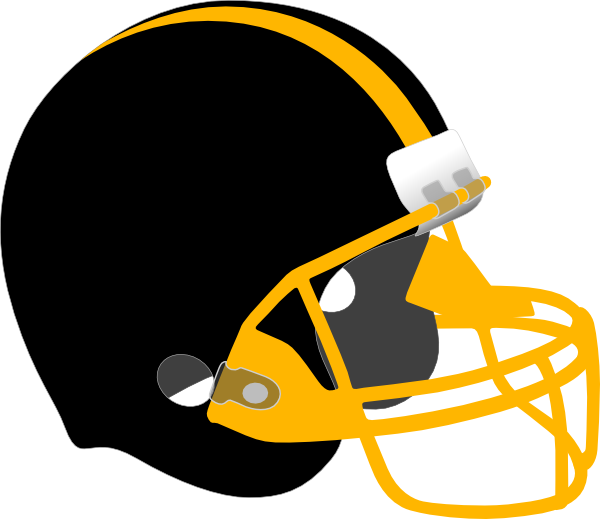 600x519 Free Football Helmet Clipart Image