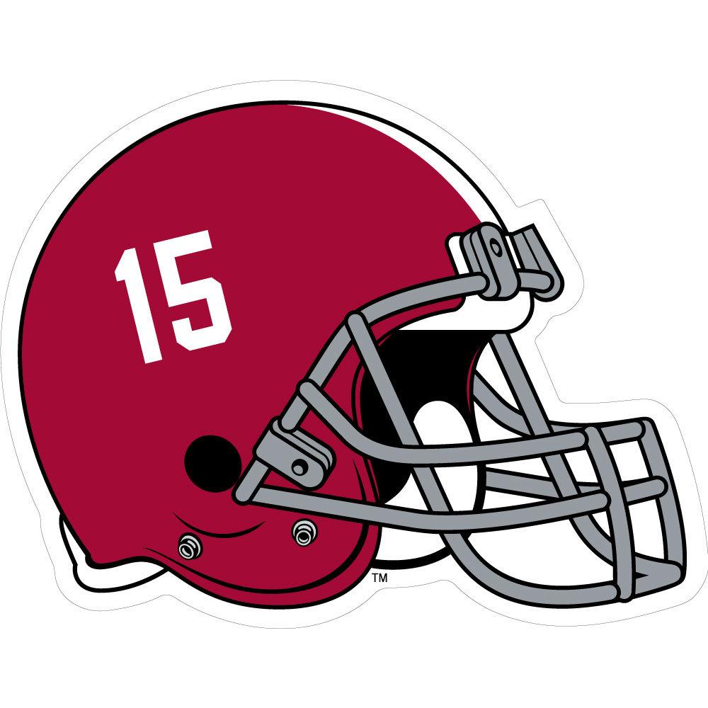 1000x1000 Crimson Football Helmet Clipart