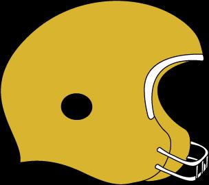 304x270 Gold Football Helmet Clip Art