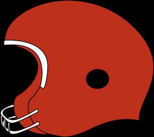 304x270 Helmet Clipart Red Football