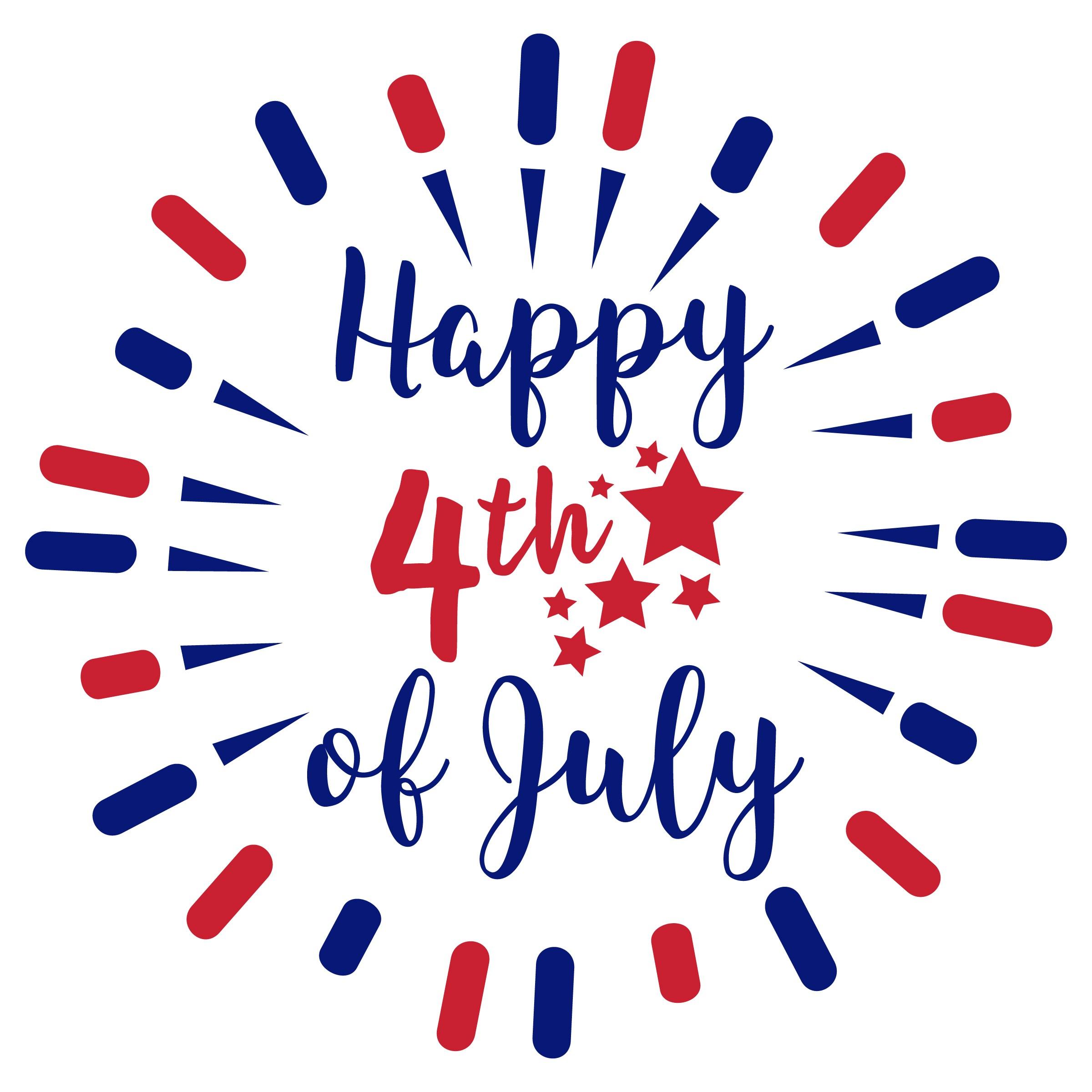 2400x2400 Happy 4th Of July Svg Freebie, Free Fourth Of July Svg, July 4th