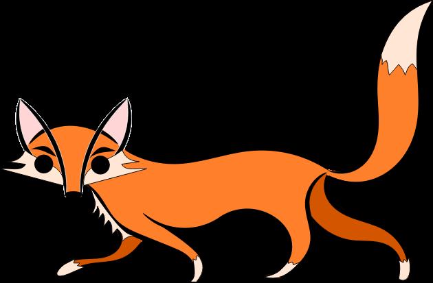 630x413 Fox free to use clip art