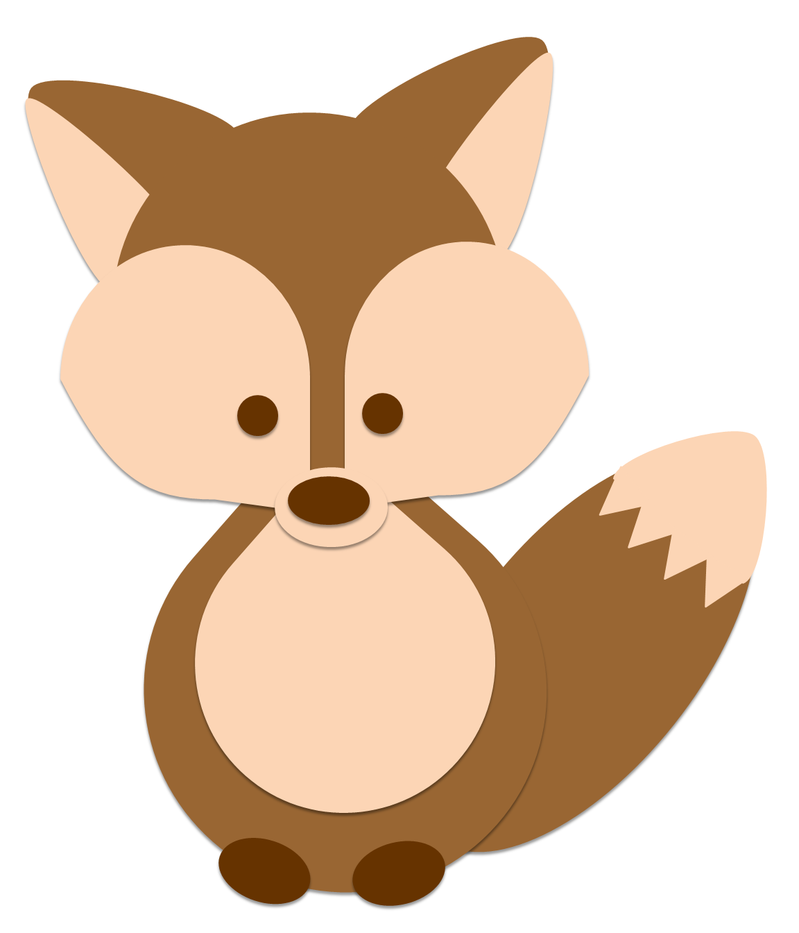 1152x1344 Free fox clipart pictures 6