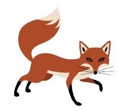 247x219 Fox Clip Art