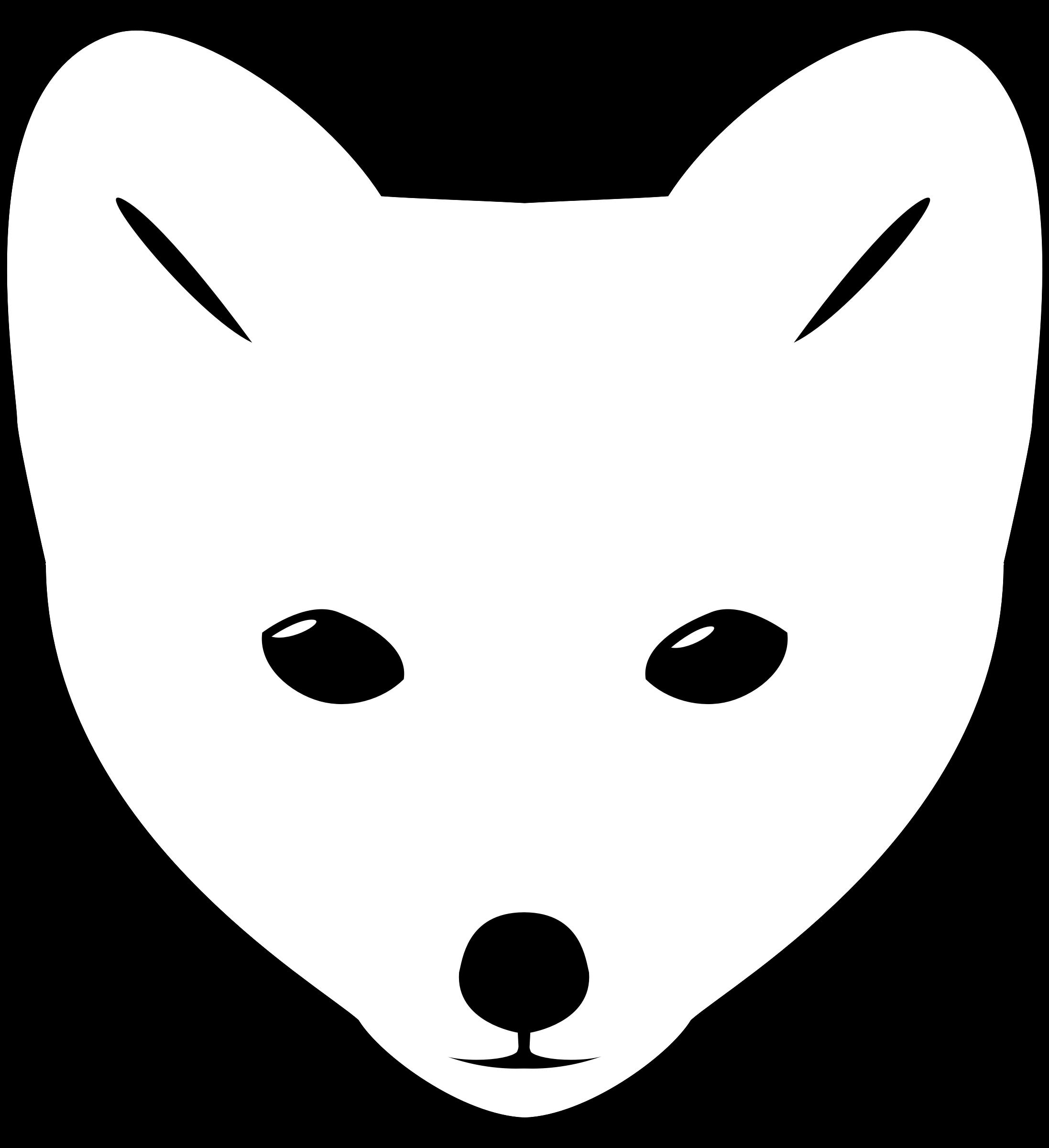 2194x2400 Arctic Fox Clipart Animated