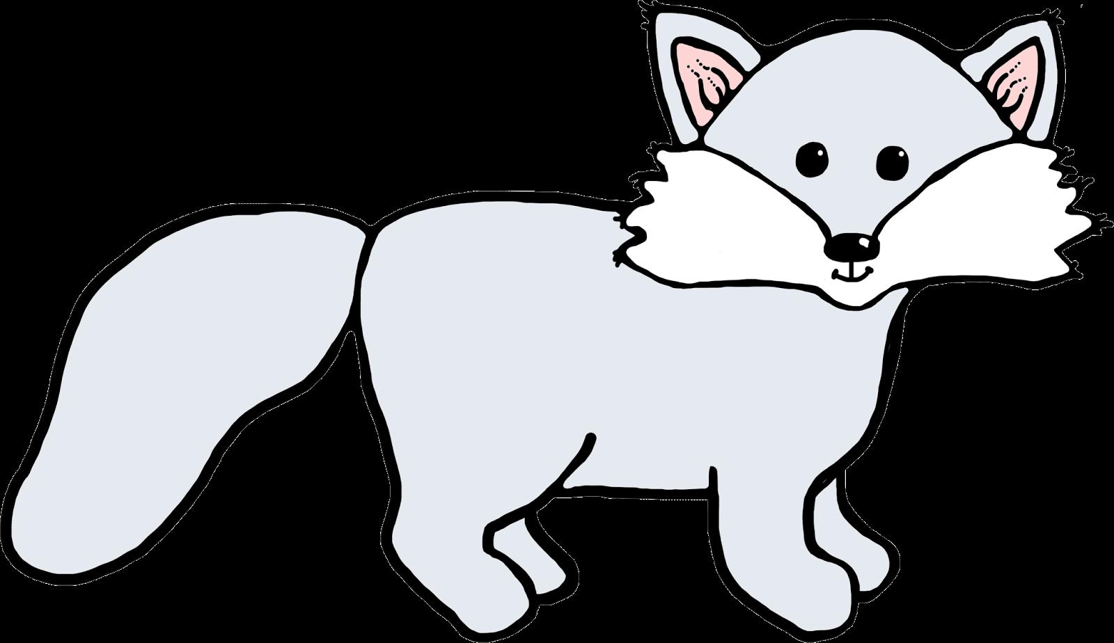 1600x924 Arctic fox clipart kid