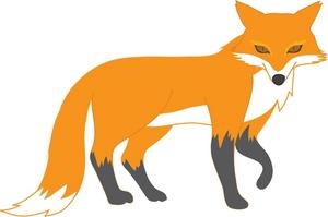 300x199 Fox Clipart
