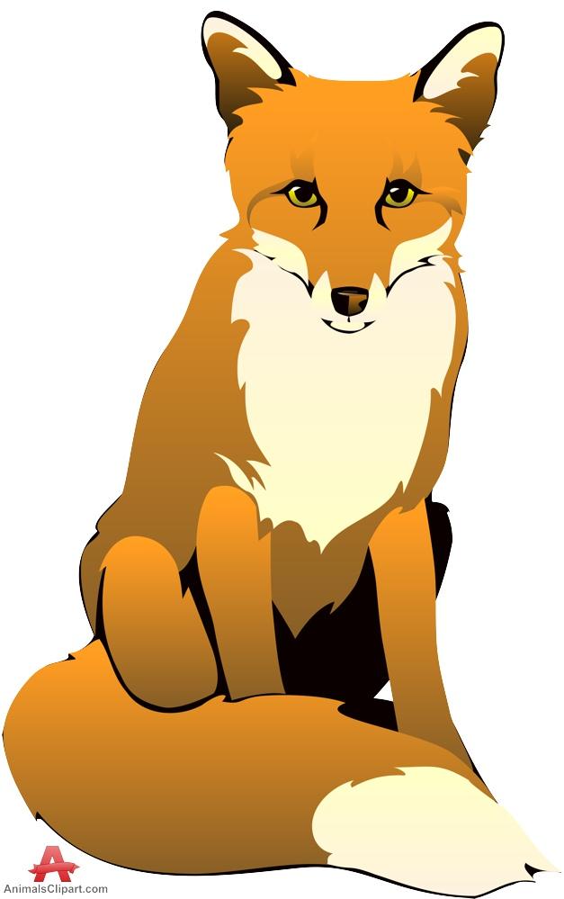 627x999 Fox Clipart Free Design Download