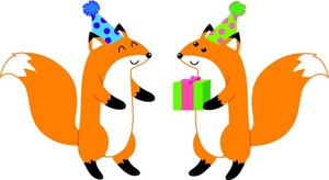 300x164 Free Free Foxes Clip Art Image 0071 0908 3116 0202 Animal Clipart