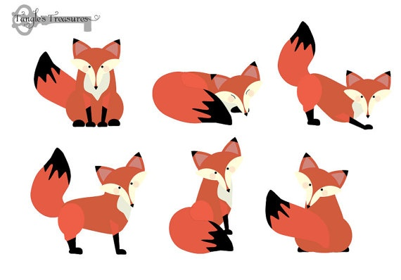 570x398 Baby Fox Clipart Free Images 3