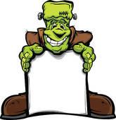 165x170 Frankenstein Clip Art