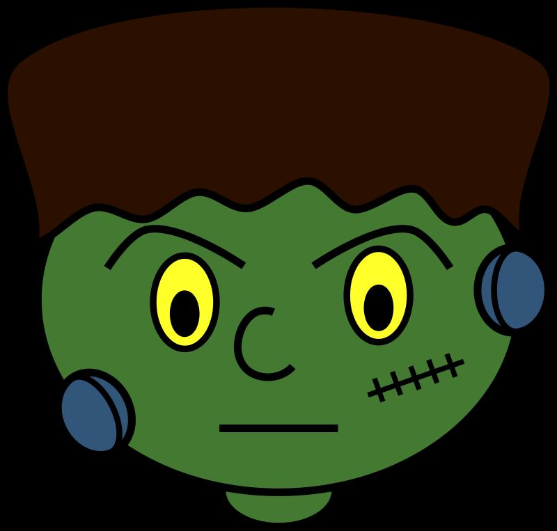 800x763 Frankenstein Clipart Halloween Monster