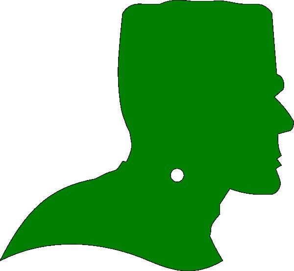 600x554 Frankenstein.green Clip Art