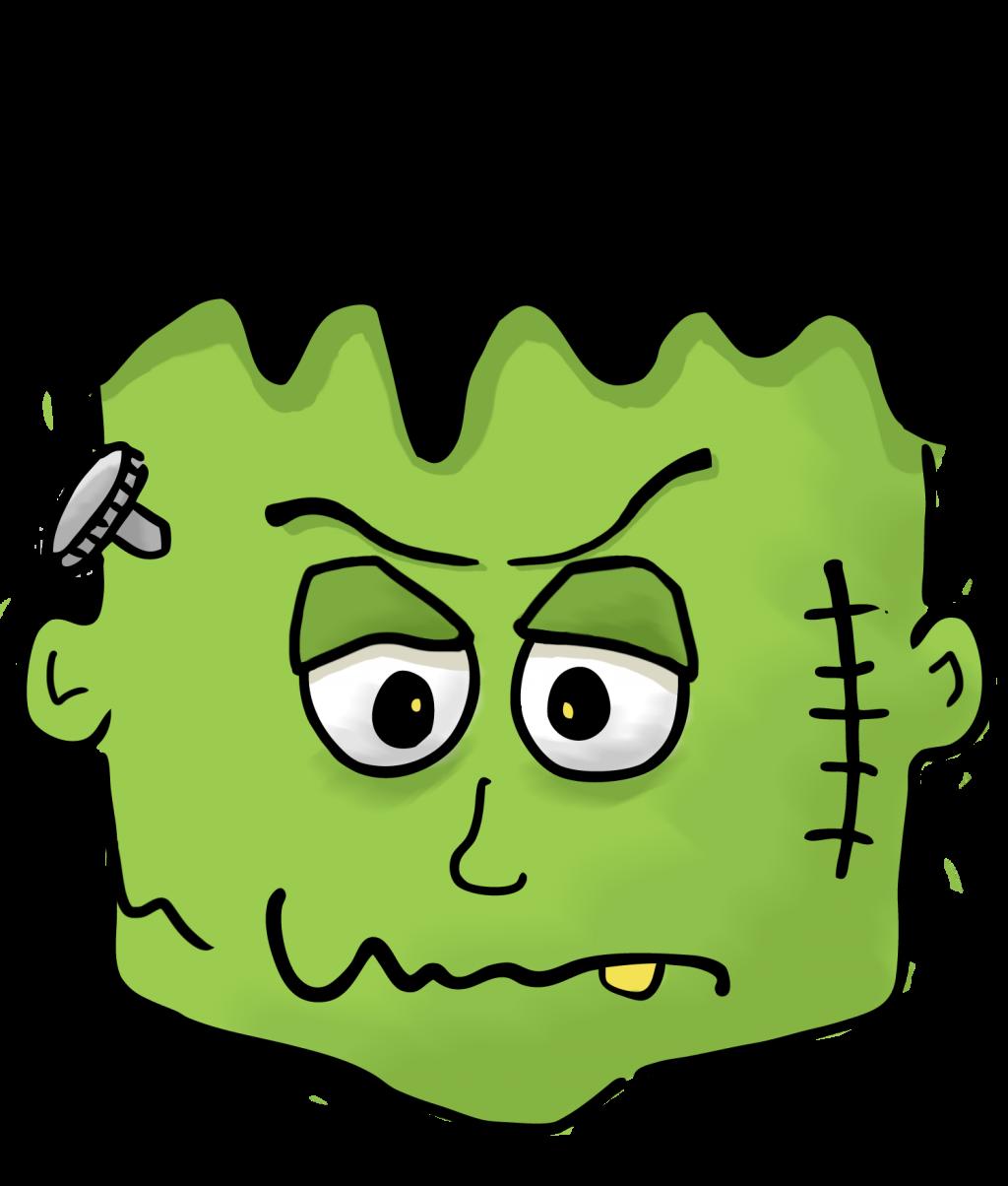 1024x1204 Uncategorized ~ Halloween Clipart Photo Ideas Frankenstein Pencil