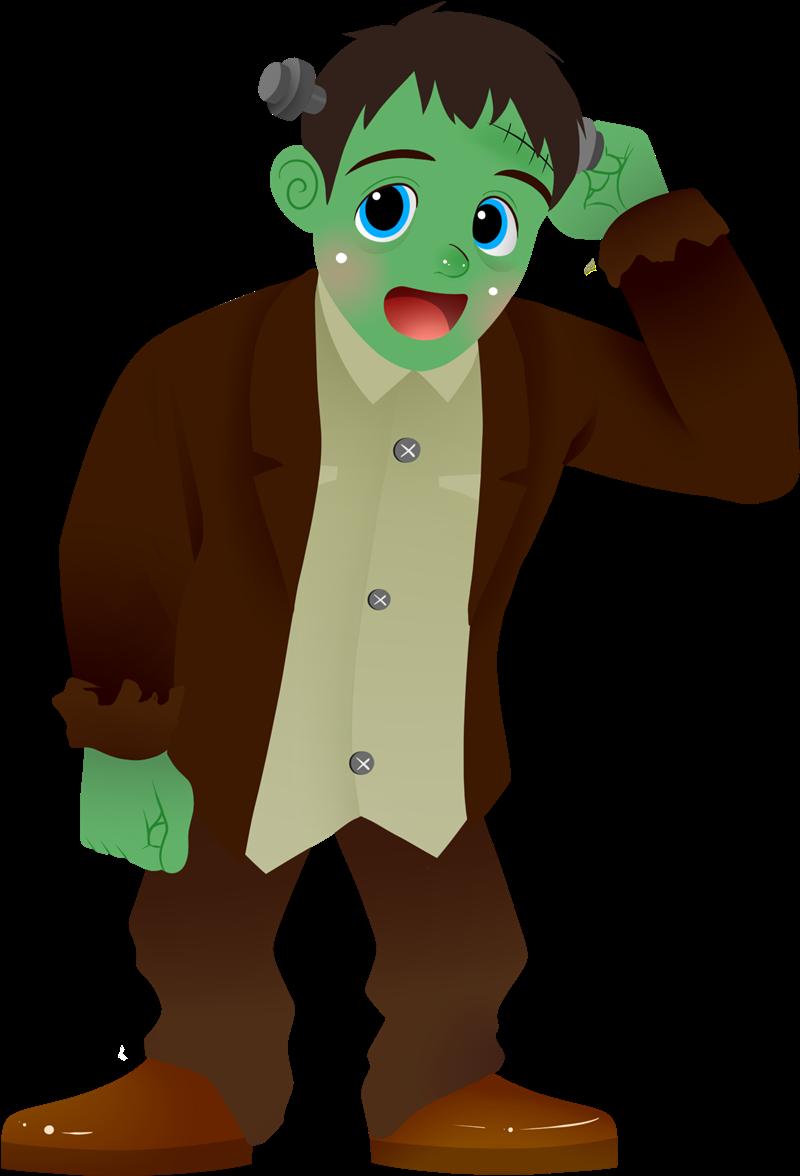 800x1176 Cute Frankenstein Clipart Clipartix