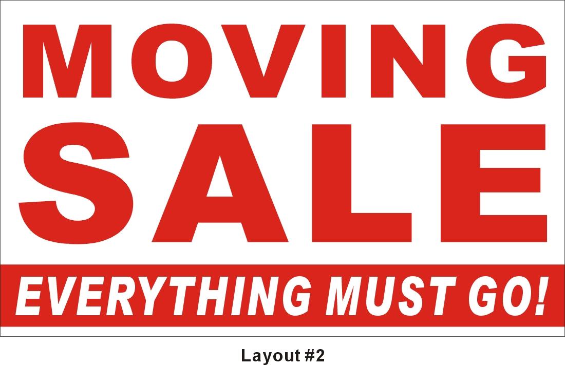 1100x711 Free Garage Sale Signs