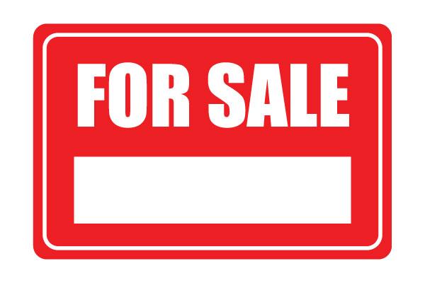600x400 For Sale Sign Printable