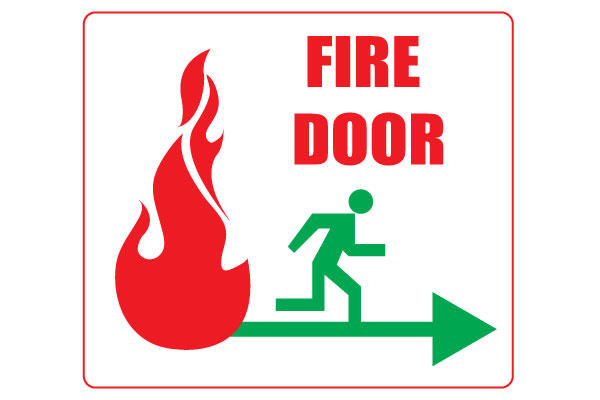 600x400 Printable Fire Door Signs For Safety Free Download Door Signs